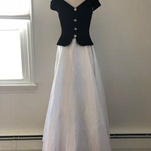 Prom/formal off the shoulder full length dress